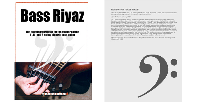 bass riyaz front back covers