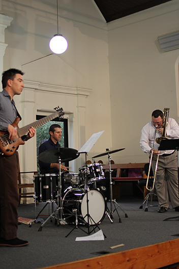 Adrian Sherriff trio at St Marks 2013